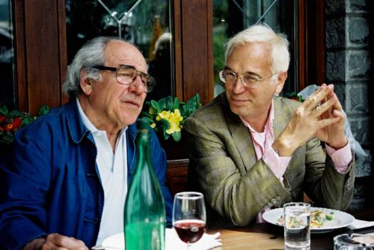 Baudrillard and Schirmacher in conversation.