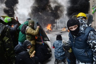 Taking it to the Streets. Urkraine