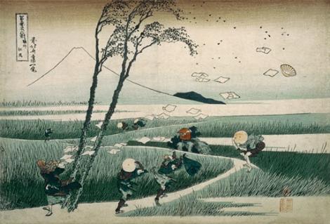hokusai -sunshu ejiri