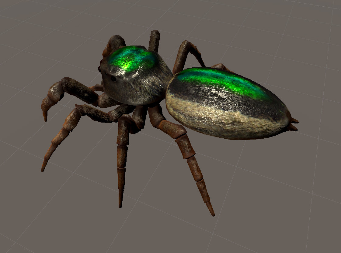 Tomás Saraceno Bagheera kiplingi (vegetarian spider), 2020 Courtesy of the artist and Acute Art.
